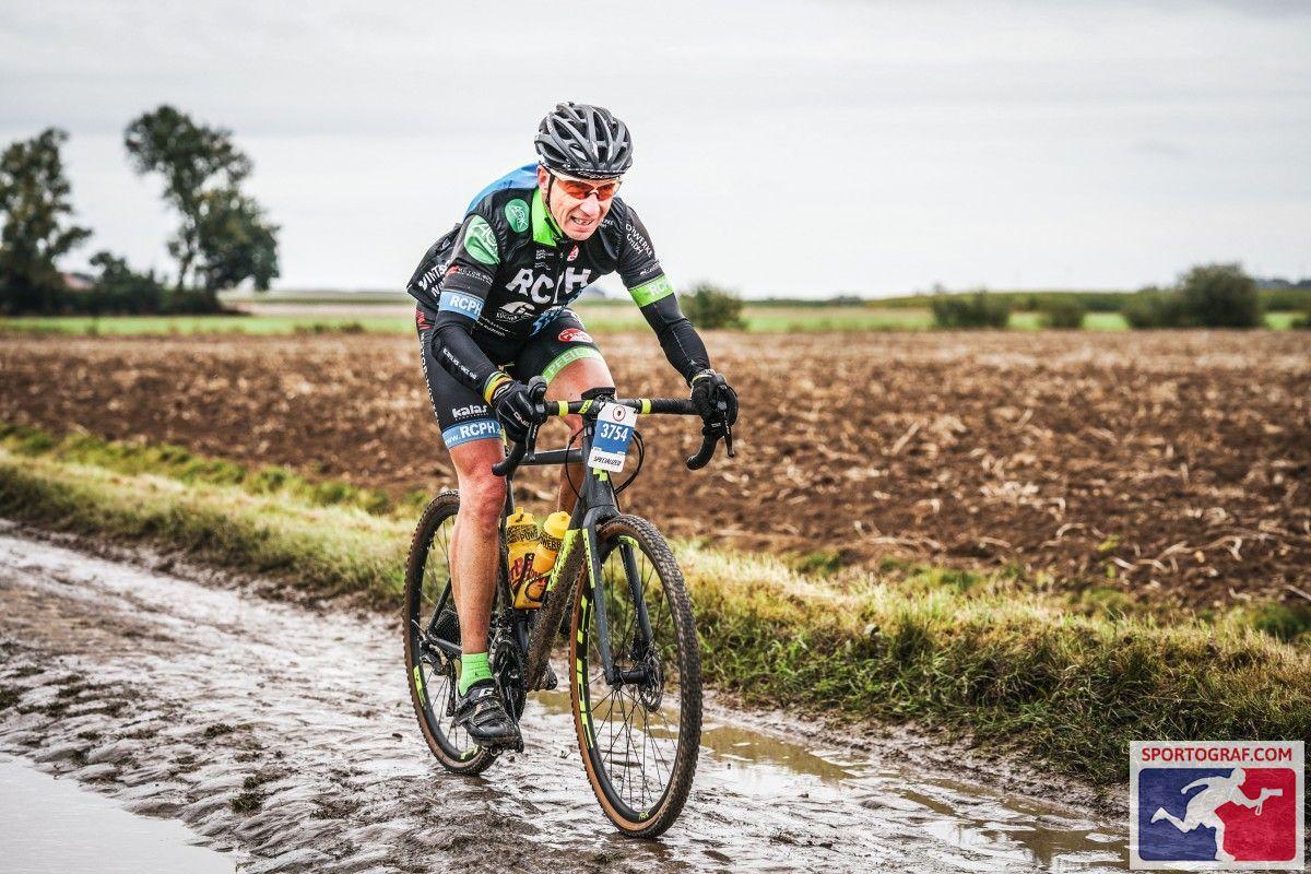 Bild von der Strecke Paris Roubaix